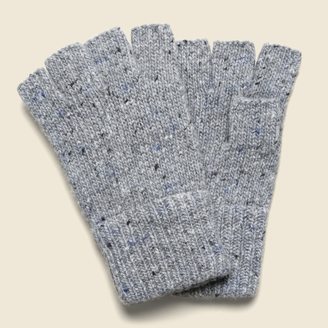 Alex Mill Alpaca Fingerless Glove - Stone Flag