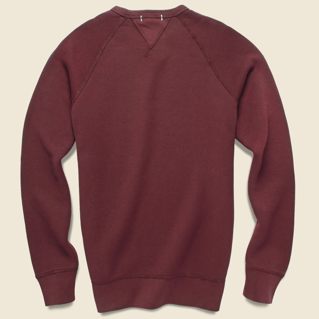 French Terry Sweatshirt - Bordeaux