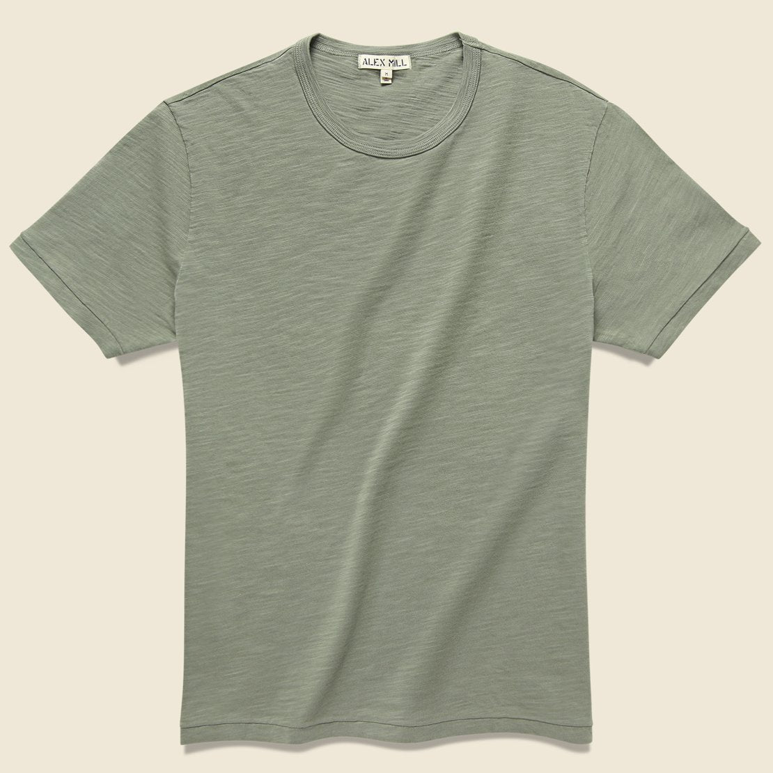 Alex Mill Standard Crew Tee - New Olive