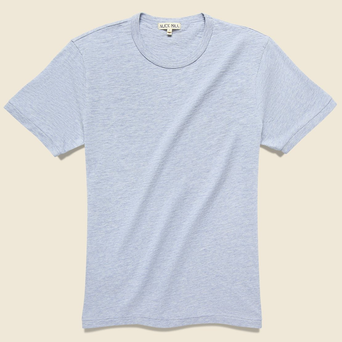 Alex Mill Standard Crew Tee - Heather Sky