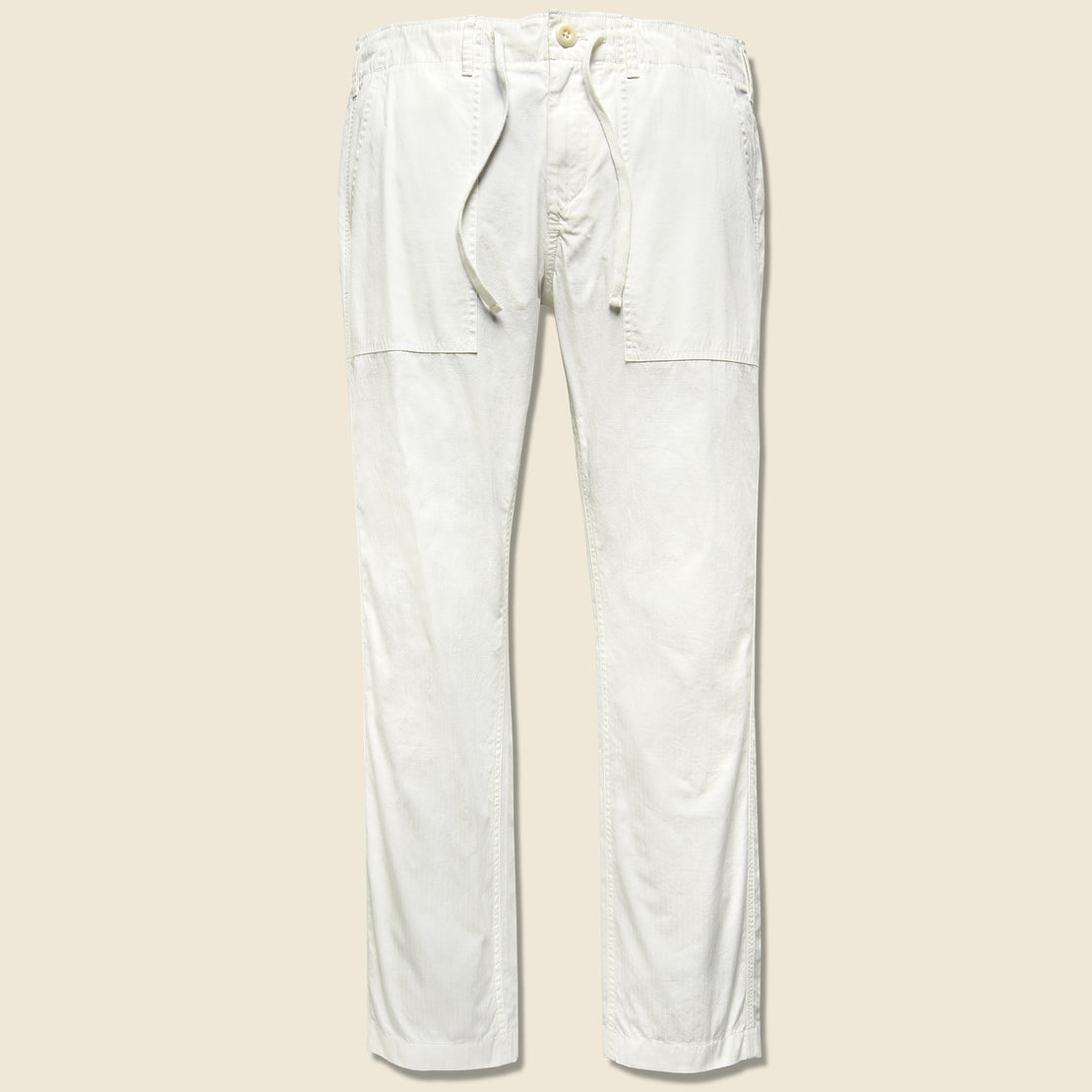 Alex Mill Ripstock Dock Pant - Off White