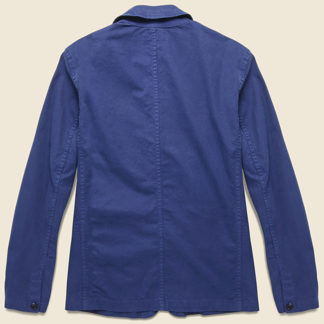 Twill Sack Jacket - Navy