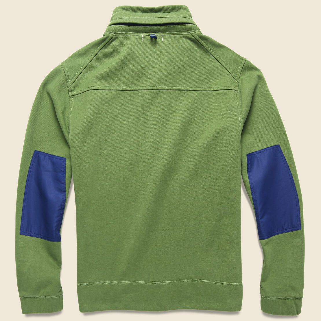 Compact Terry Popover Sweatshirt - Army Olive