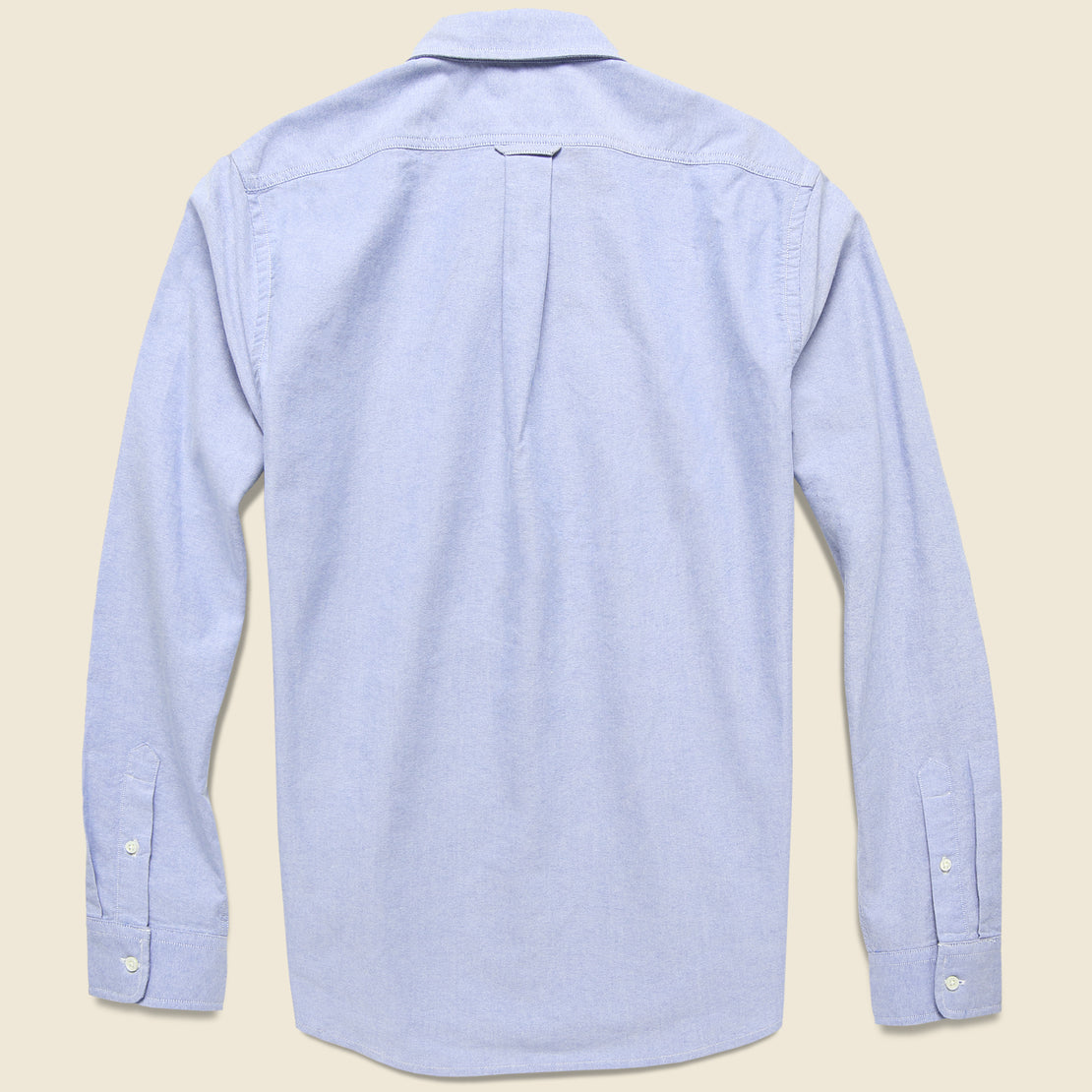 Overdyed Oxford Shirt - Blue