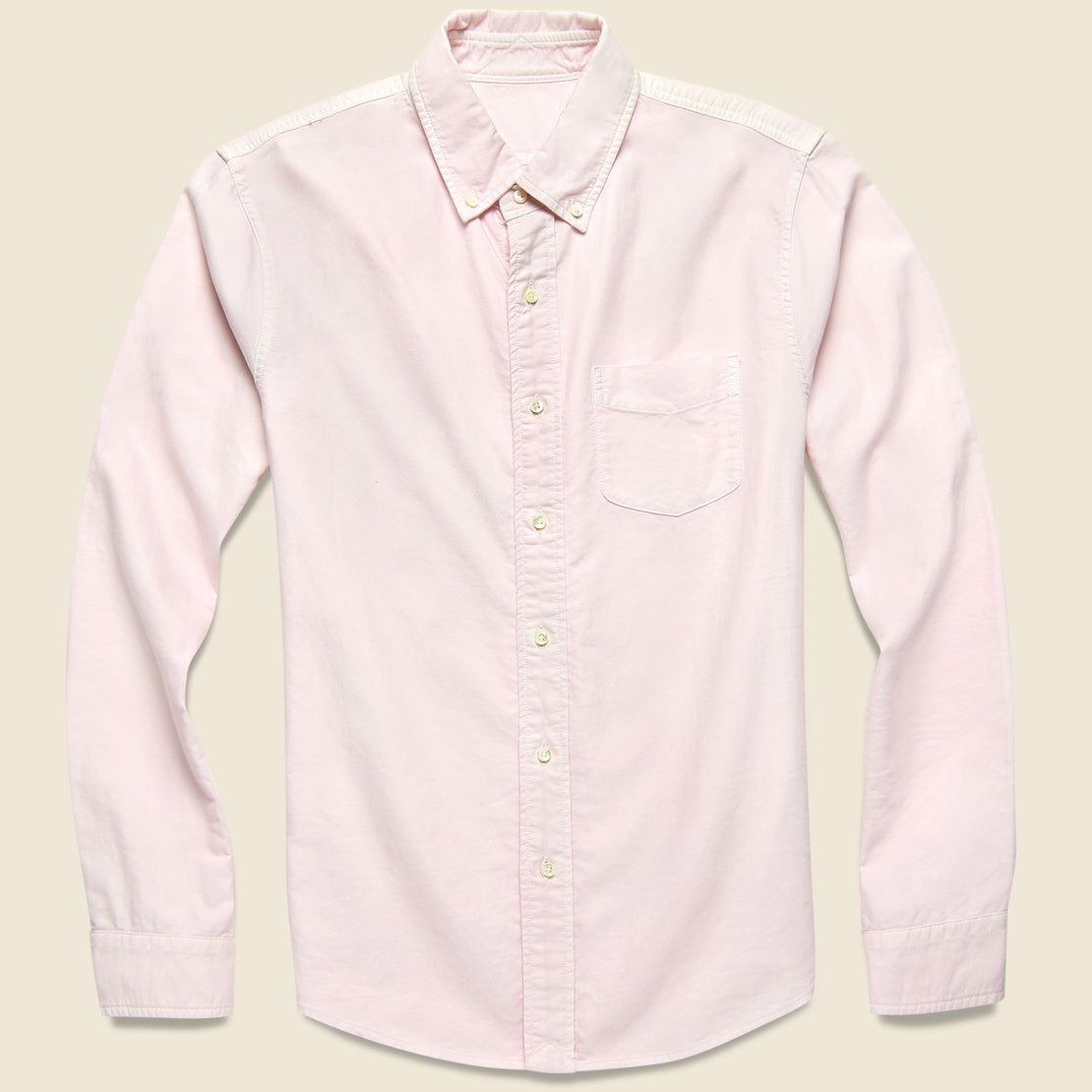 Alex Mill Overdyed Oxford Shirt - Pink