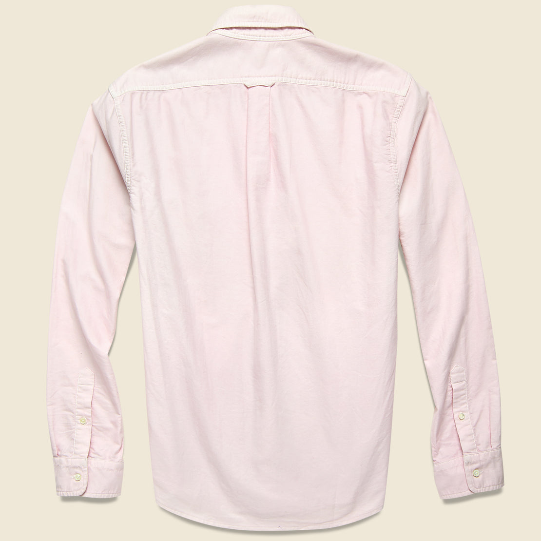 Overdyed Oxford Shirt - Pink