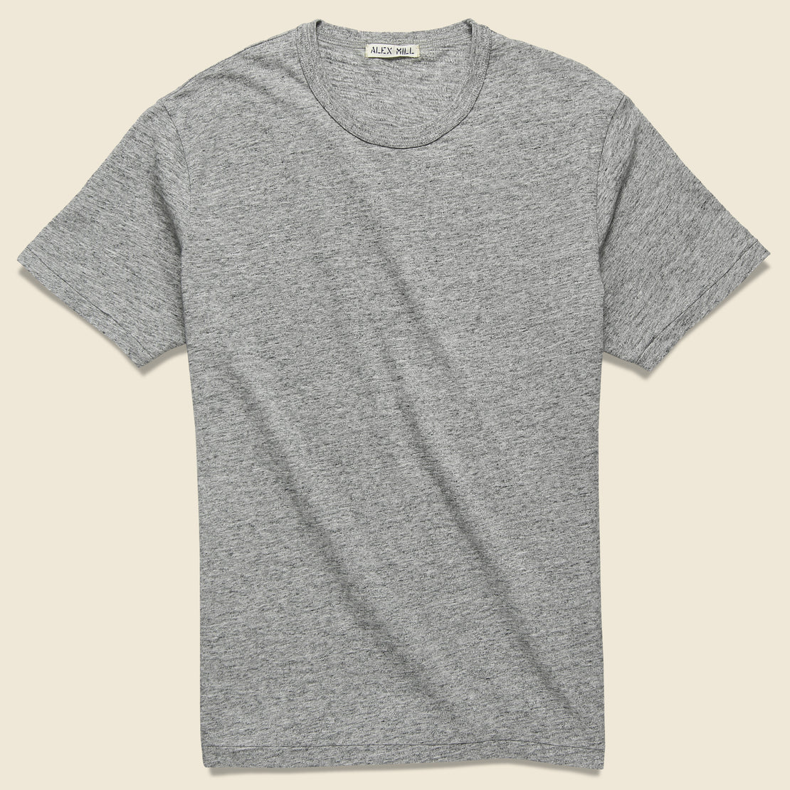 Alex Mill New Standard Crew Tee - Heather Grey