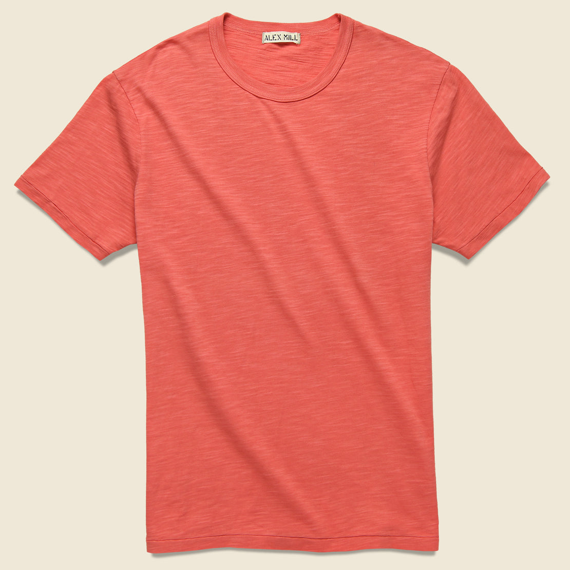 Alex Mill New Standard Crew Tee - Washed Red