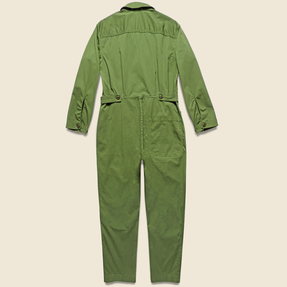 Cotton Jumpsuit - Army Green