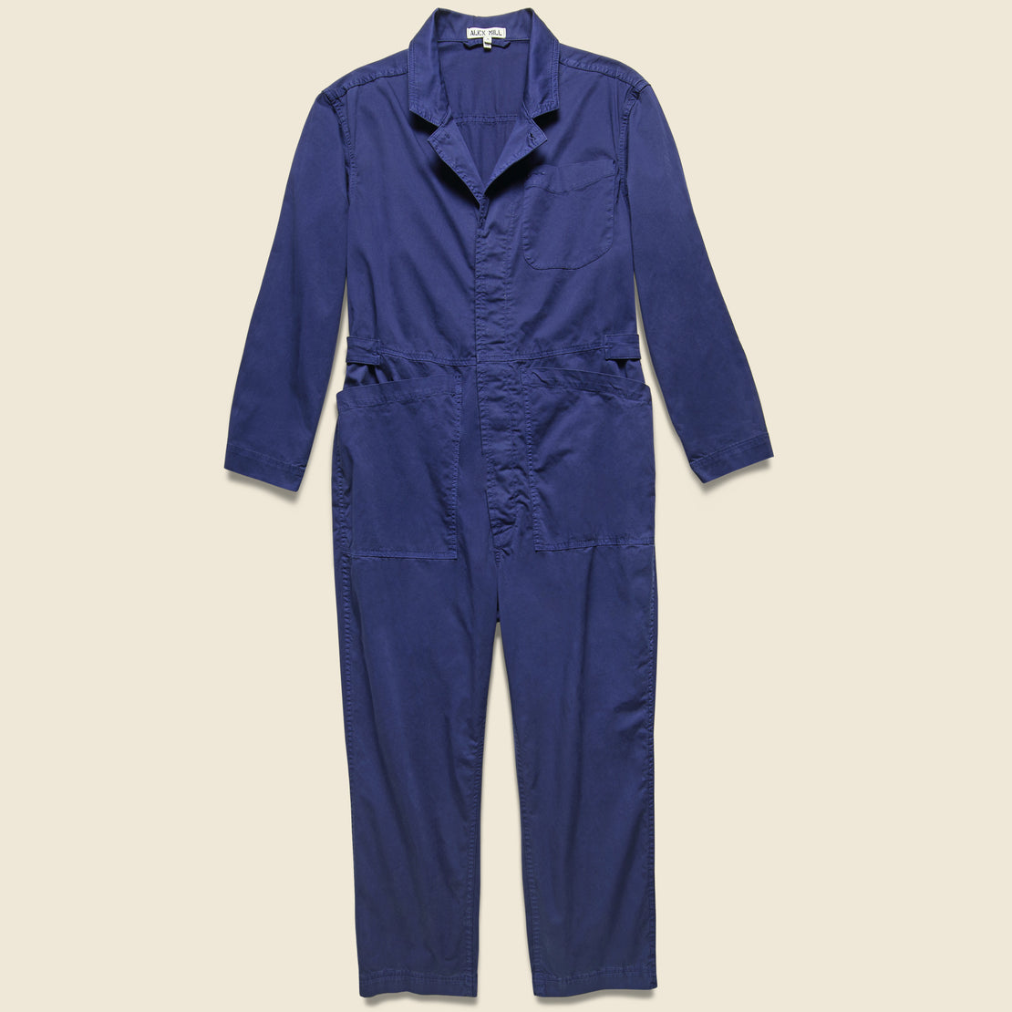 Alex Mill Cotton Jumpsuit - Dark Navy