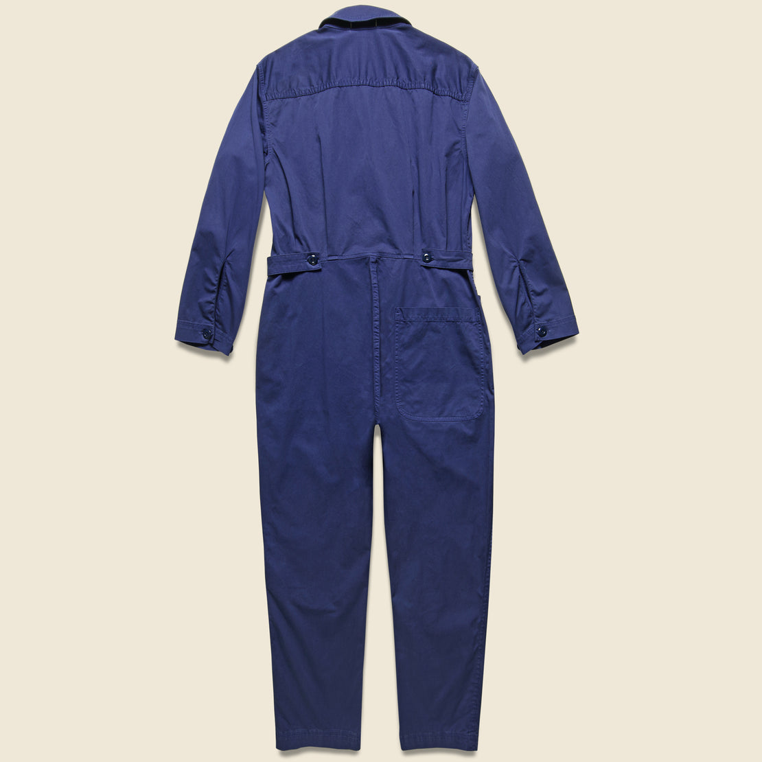 Cotton Jumpsuit - Dark Navy
