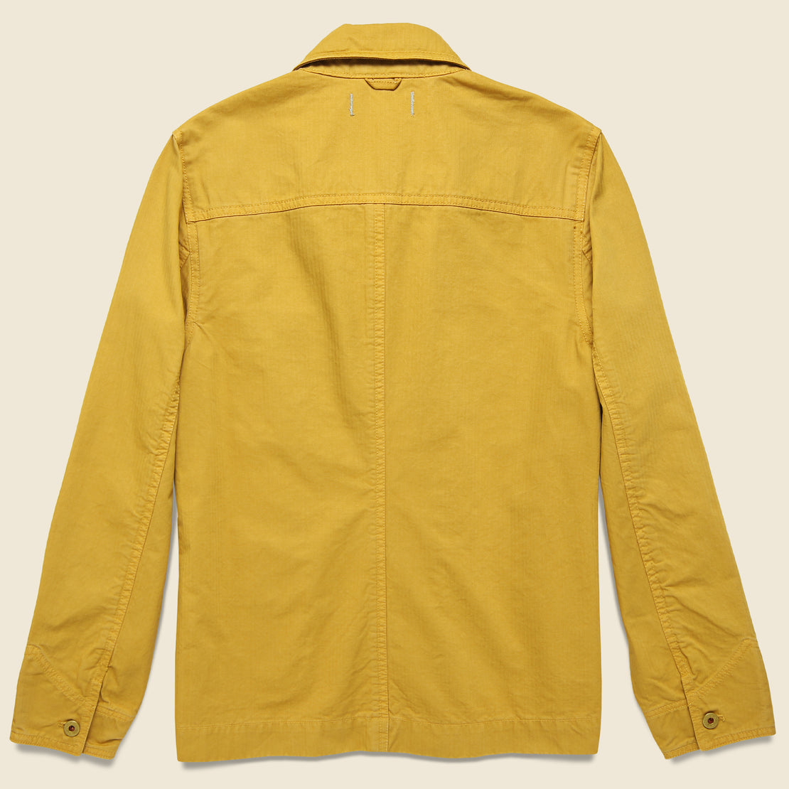 Herringbone Workers Jacket - Burnt Honey