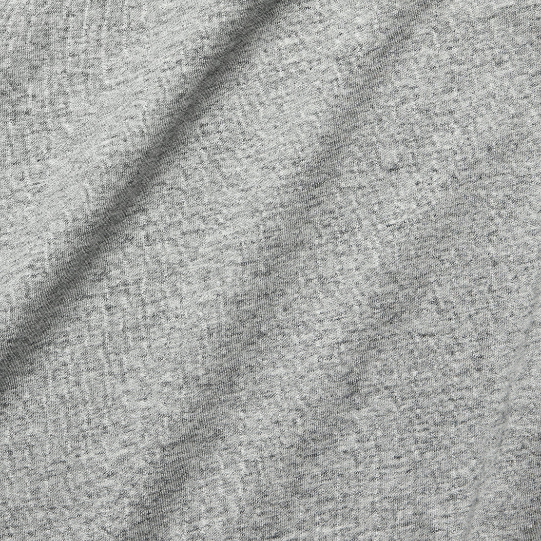 Slub Boxy Boatneck Tee - Heather Grey
