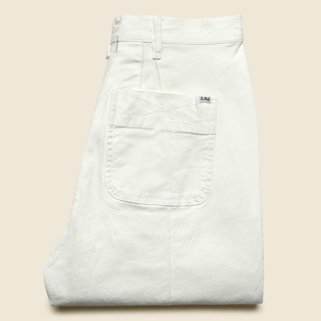 Twill Trouser - White