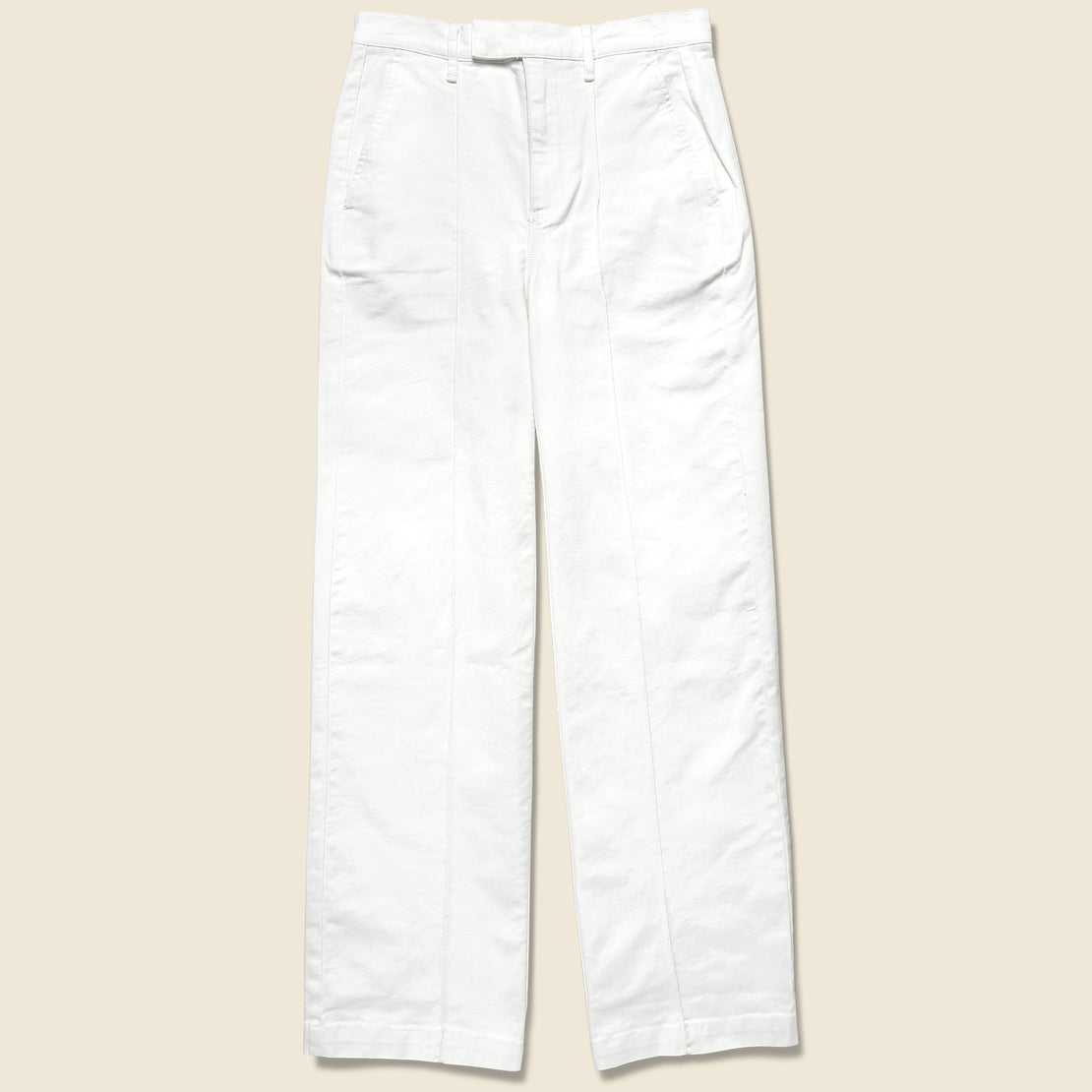Alex Mill Twill Trouser - White