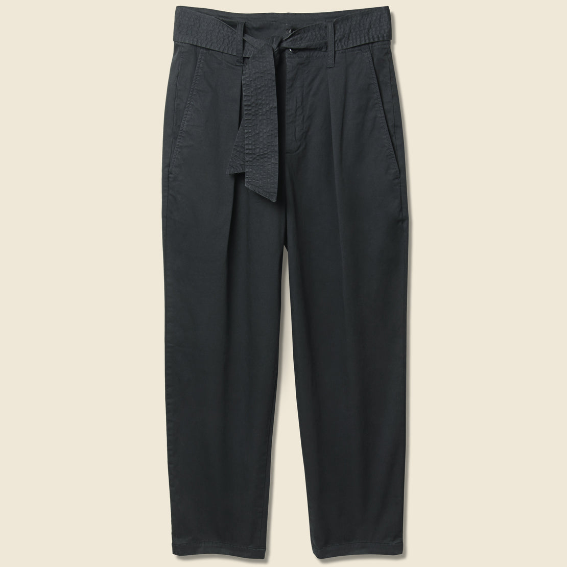 Alex Mill Avery Pleated Pant - Black