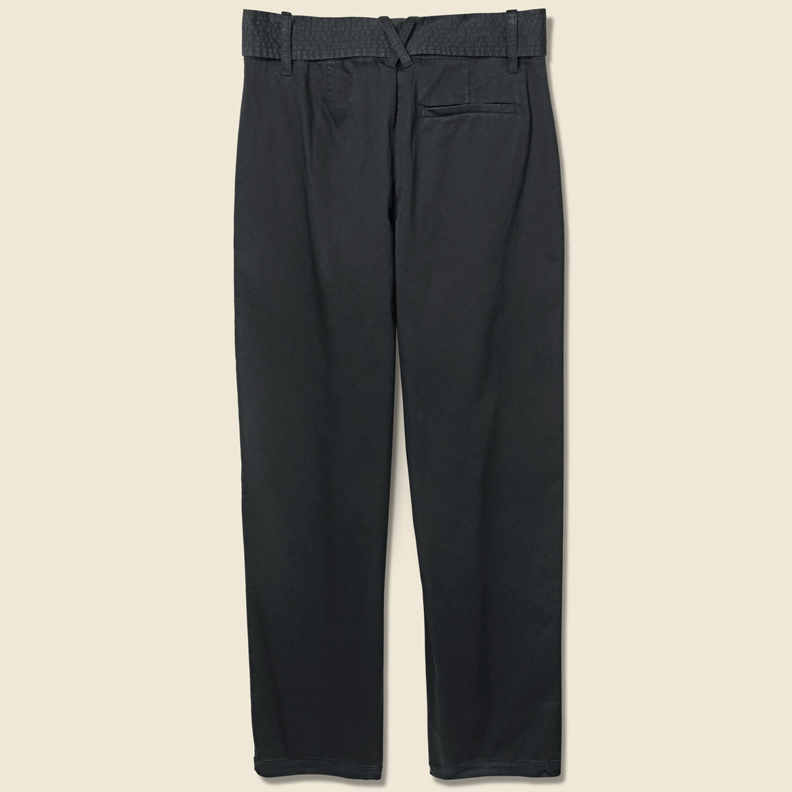 Avery Pleated Pant - Black