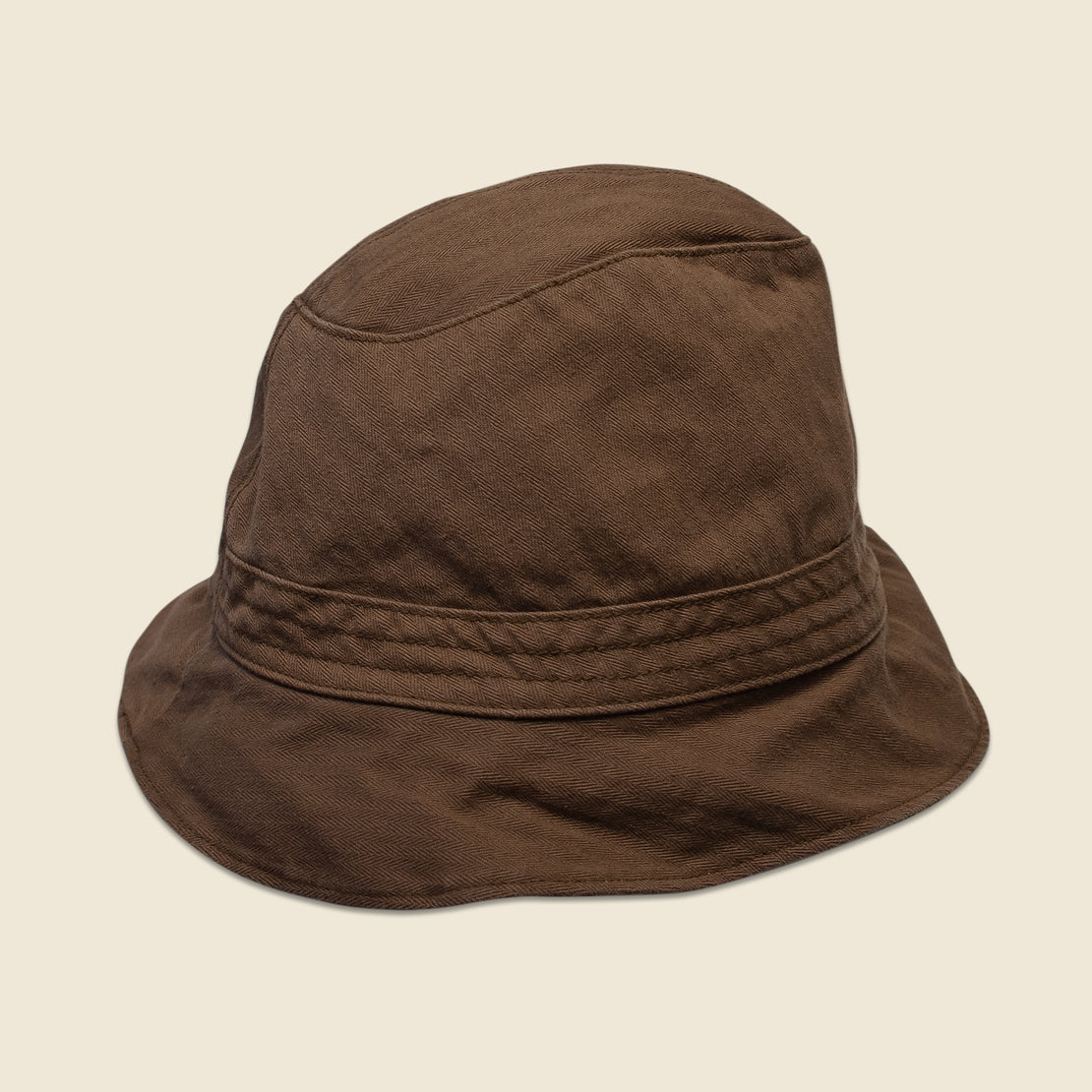 Alex Mill Reversible Bucket Hat - Brown/Camo