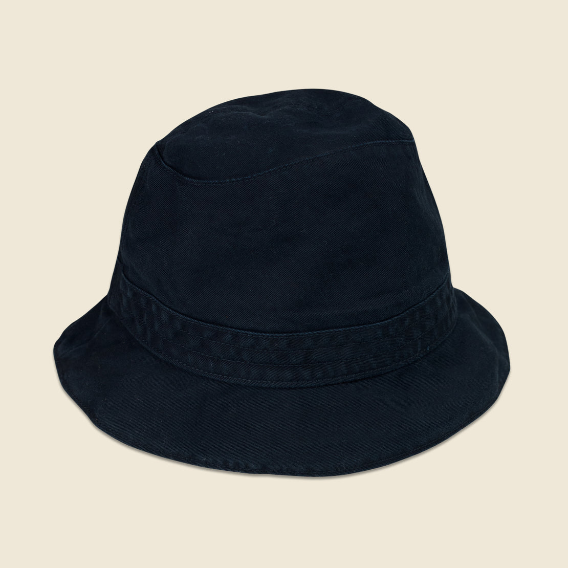 Alex Mill Reversible Bucket Hat - Navy/Plaid