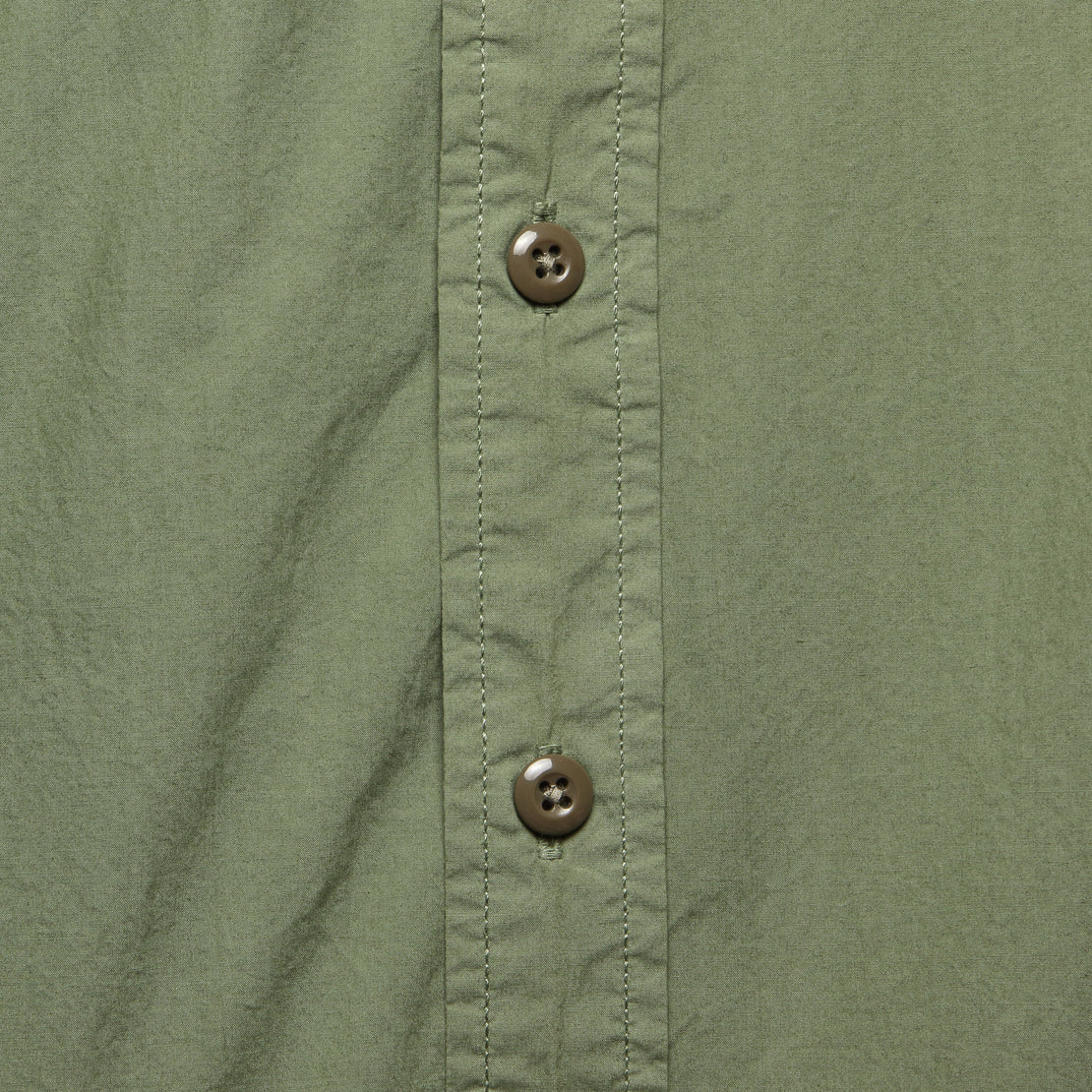 Garment Dyed Field Shirt - Military Green