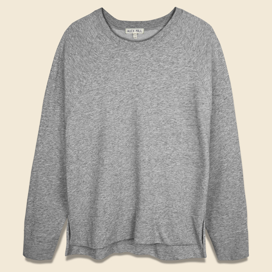 Alex Mill Jessie Pullover Sweatshirt - Heather Grey