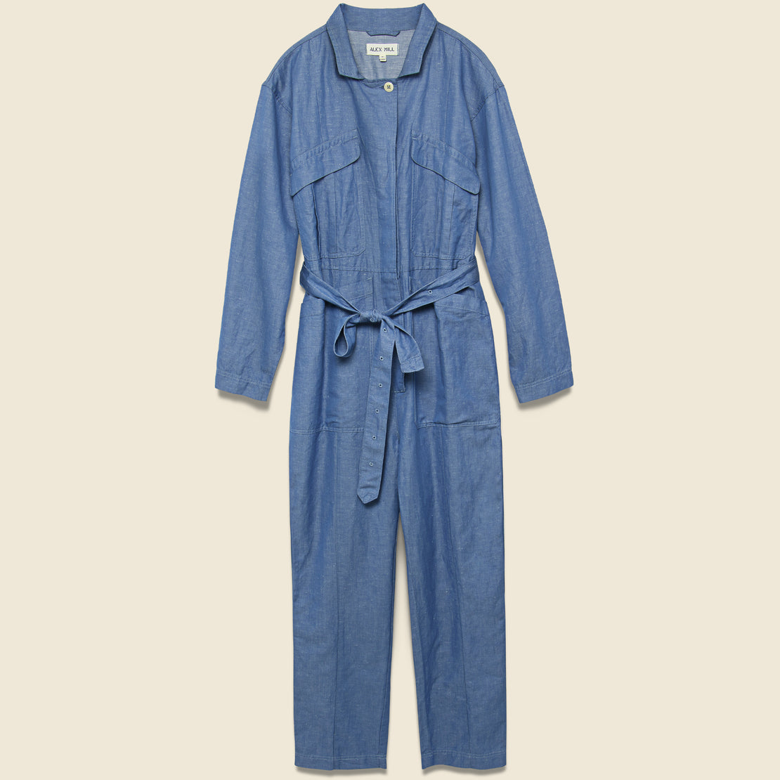 Alex Mill Expedition Jumpsuit - Chambray