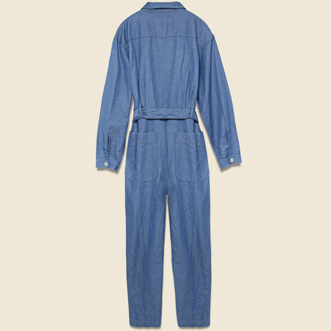 Expedition Jumpsuit - Chambray