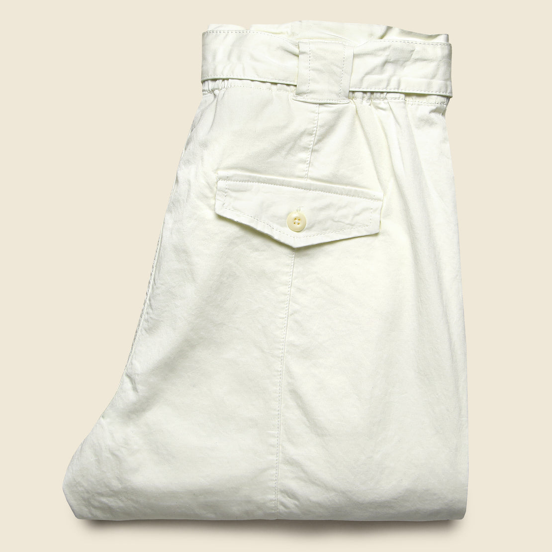 Washed Expedition Pant - White