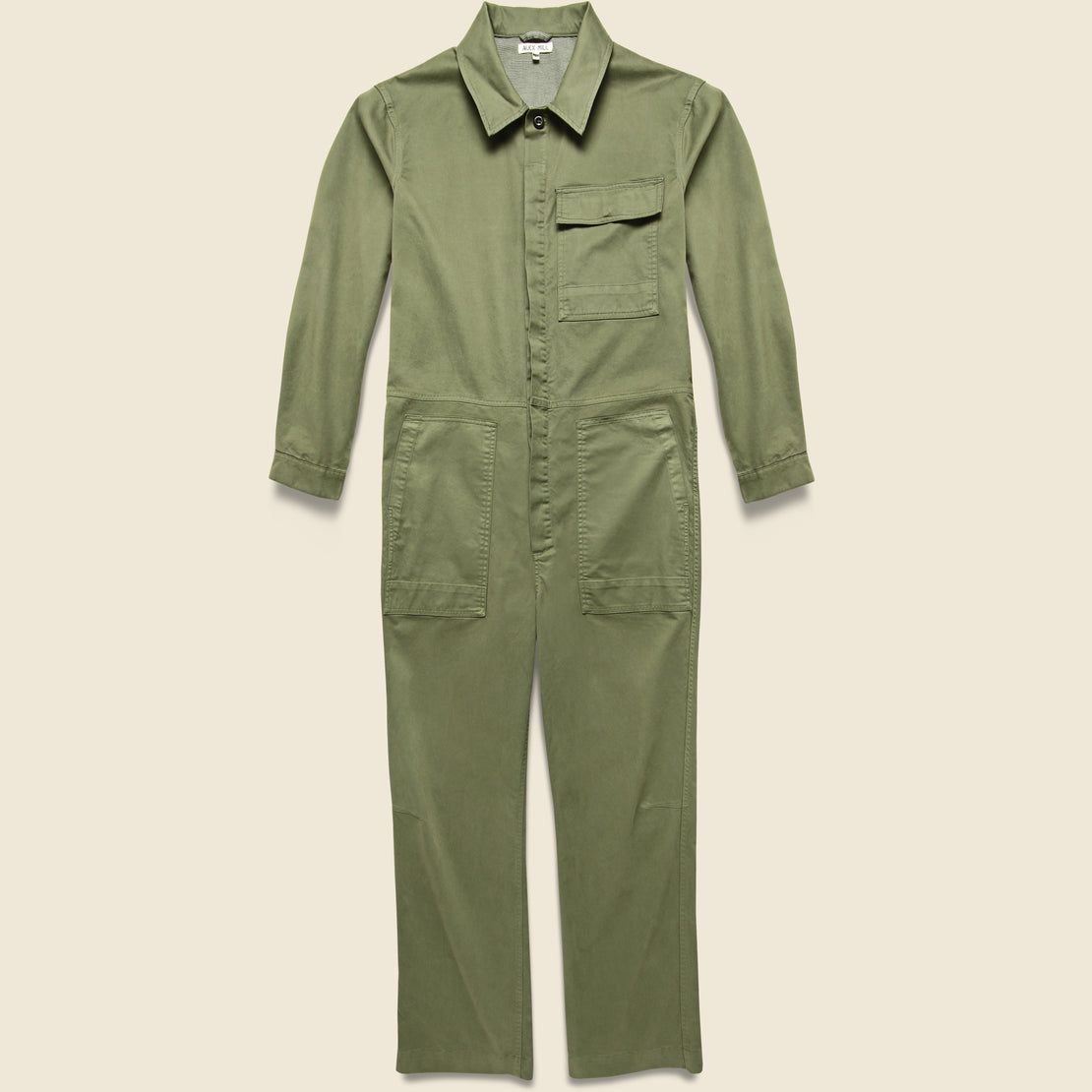 Alex Mill Unisex Chino Jumpsuit - Military Green