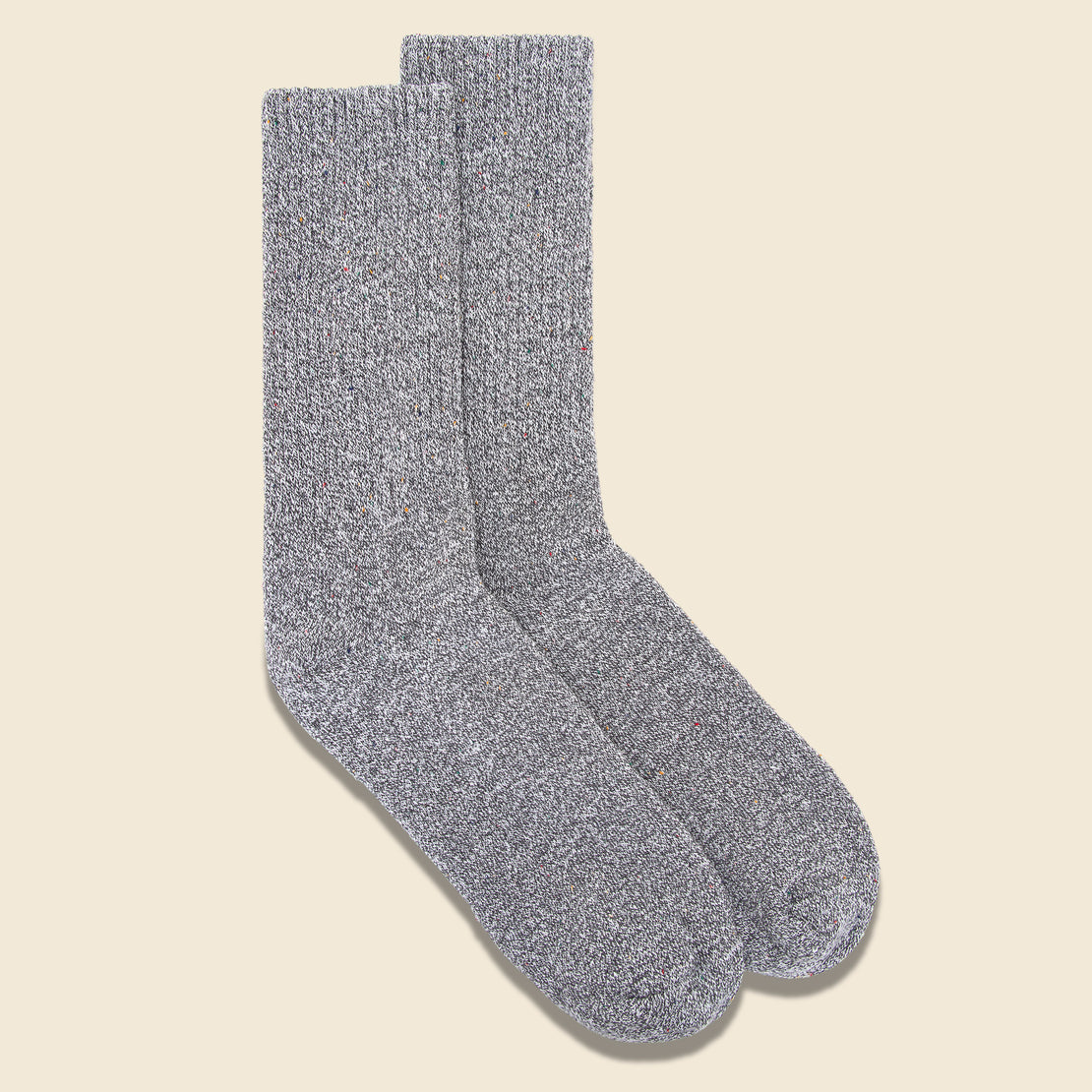 Recycled Marled Sock - Grey