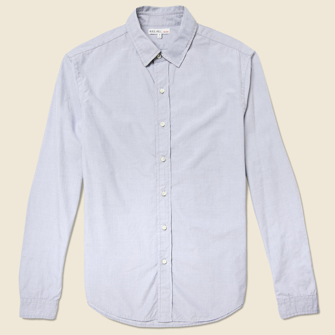 Alex Mill End On End School Shirt - Grey