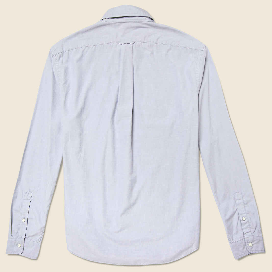 End On End School Shirt - Grey - Alex Mill - STAG Provisions - Tops - L/S Woven - Solid