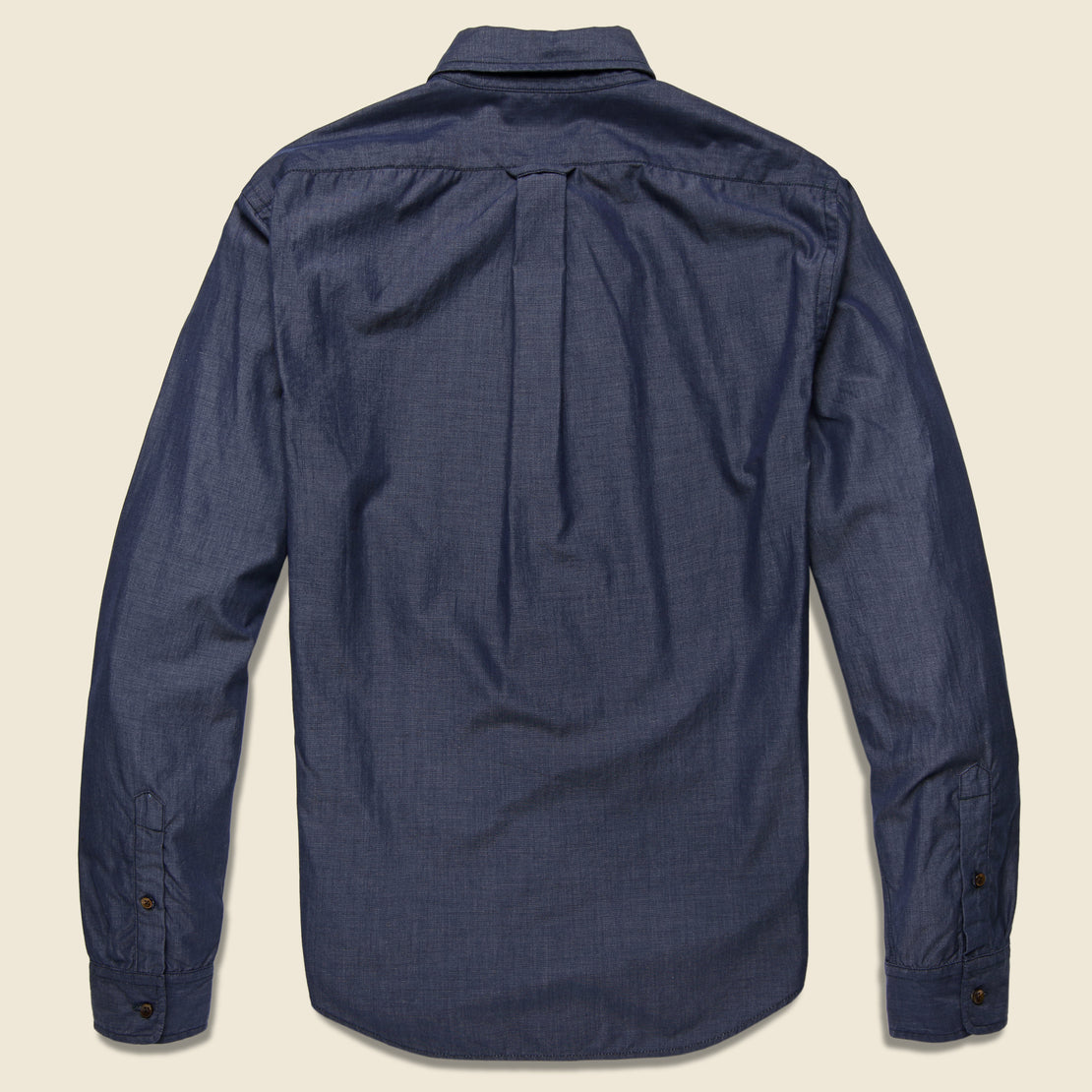 End on End School Shirt - Navy - Alex Mill - STAG Provisions - Tops - L/S Woven - Solid