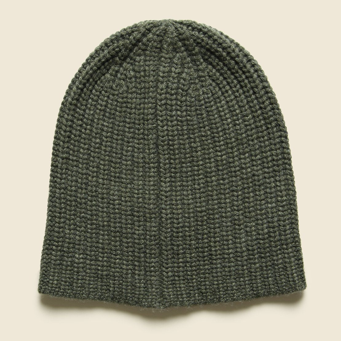 Alex Mill Cashmere Beanie - Heather Olive