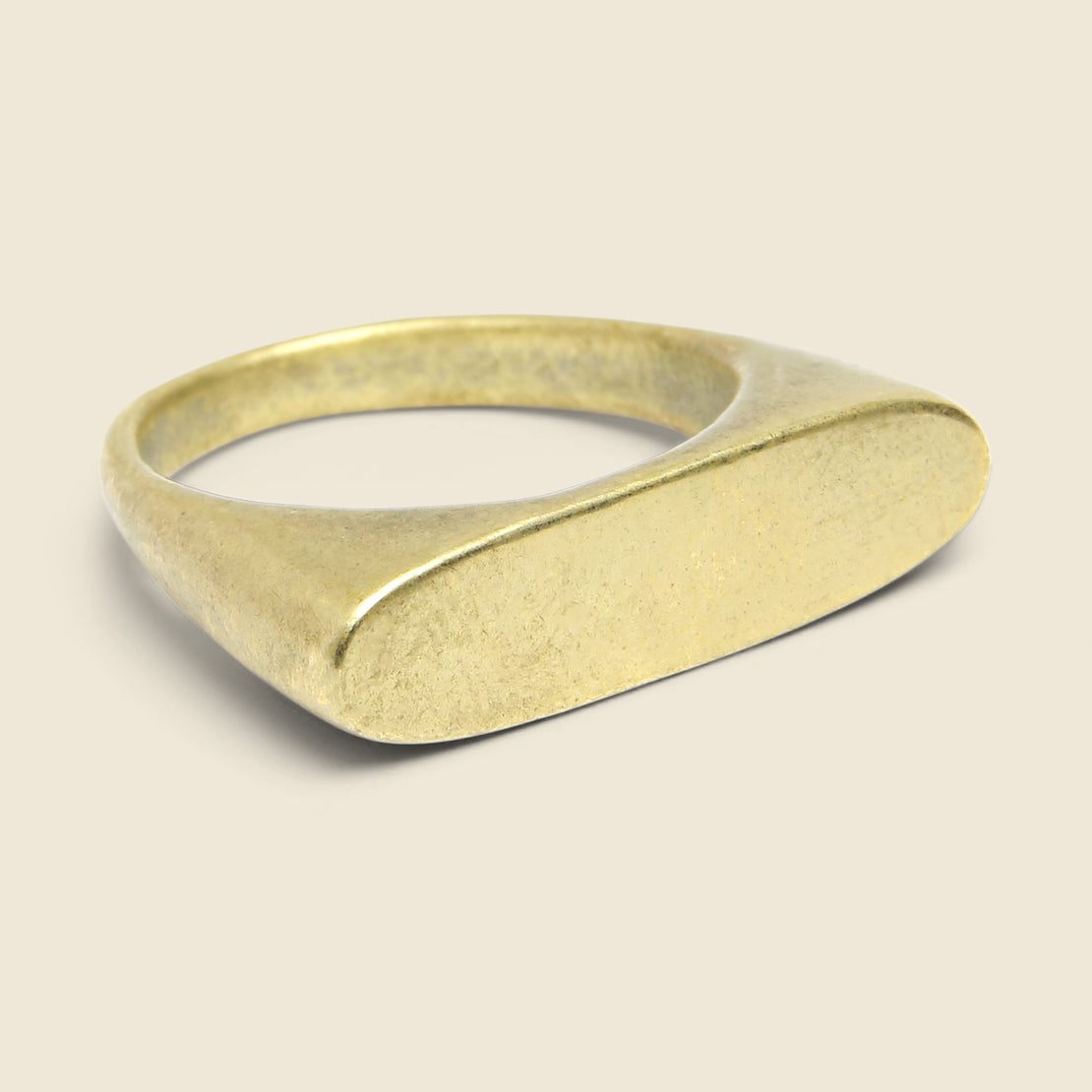 Ancients Signet II Ring - Bronze
