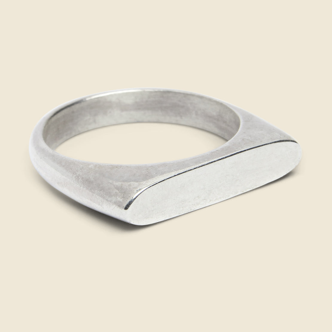 Ancients Signet I Ring - Sterling Silver