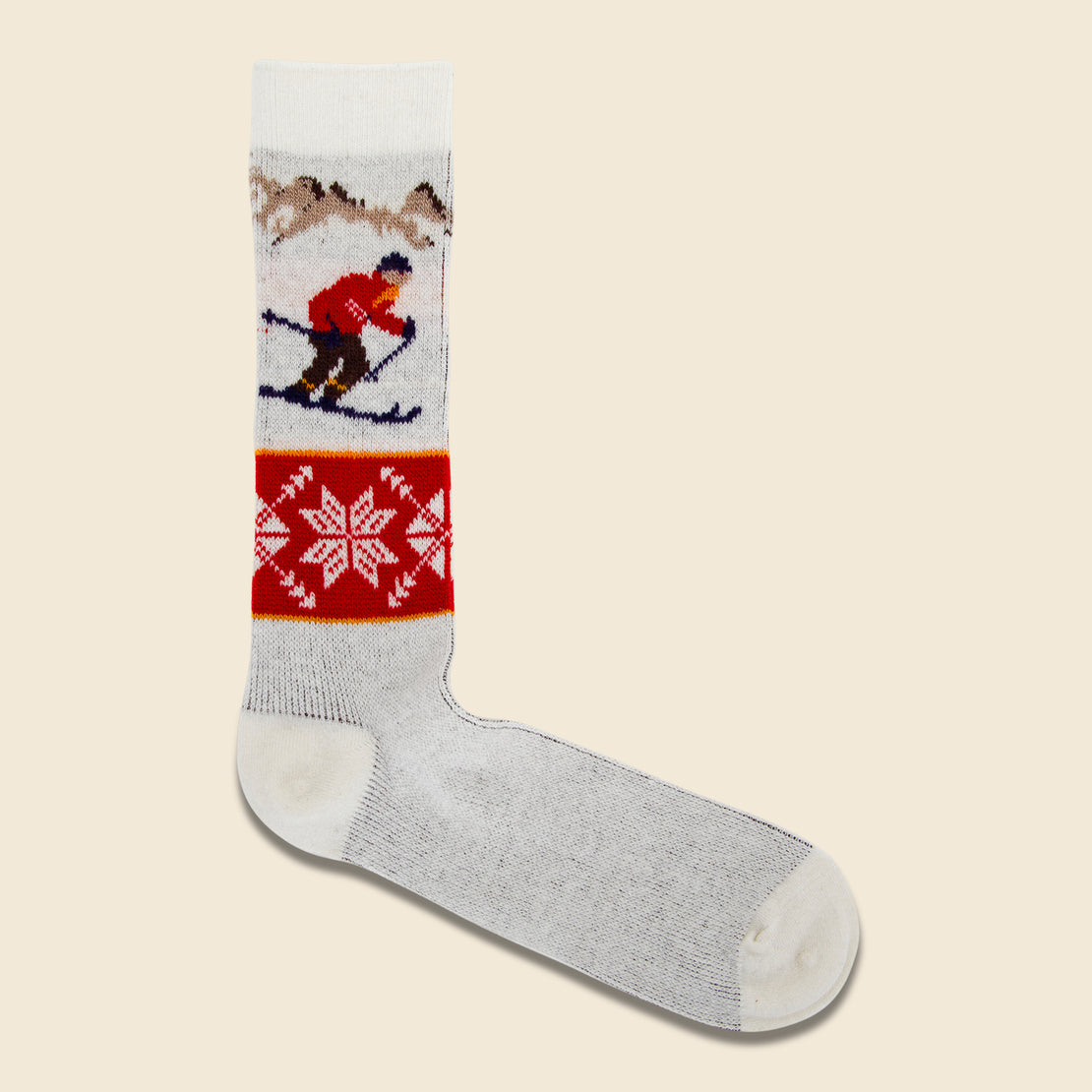 Anonymous Ism Skiier Sock - Navy/Multi