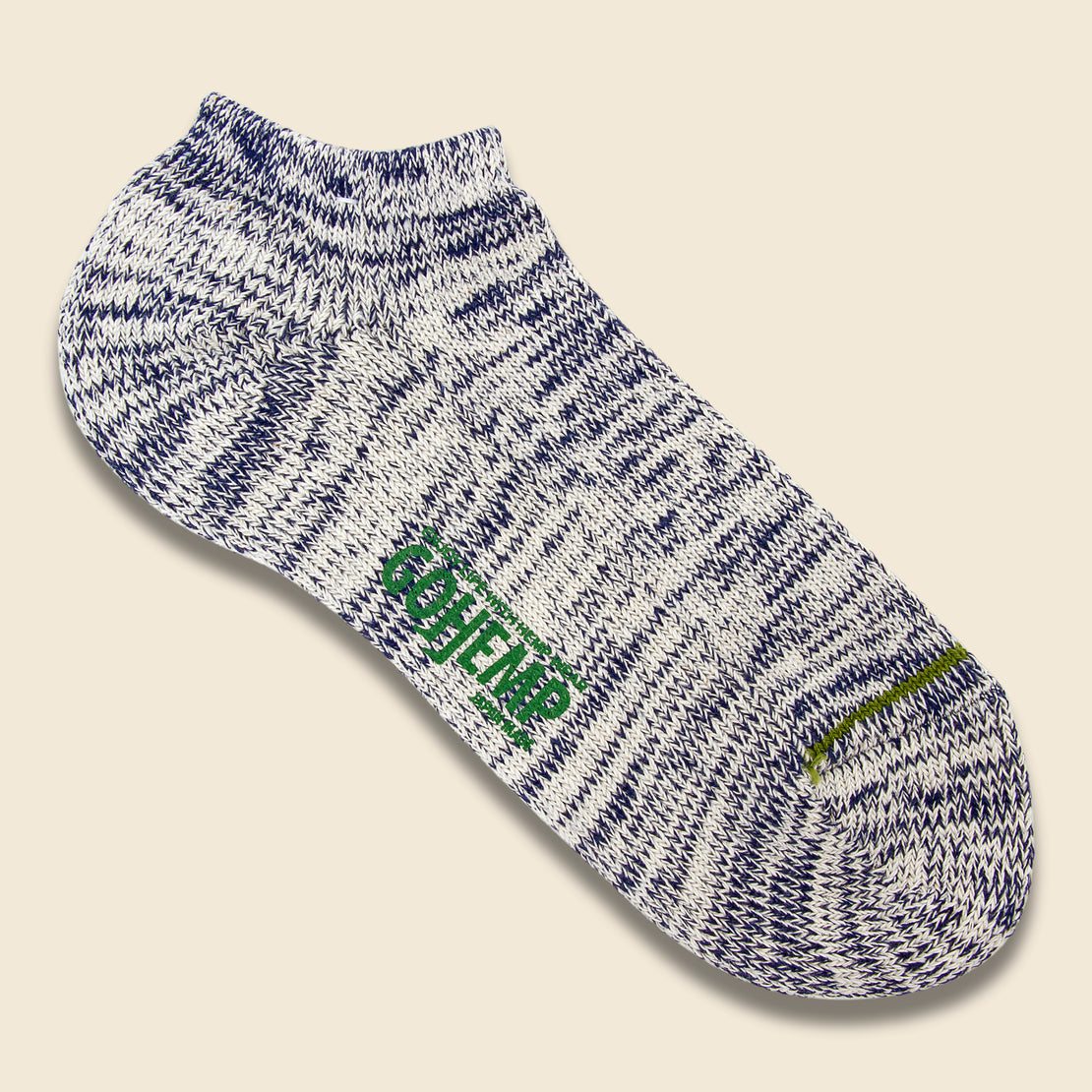 Anonymous Ism Hemp Ankle Sock - Navy