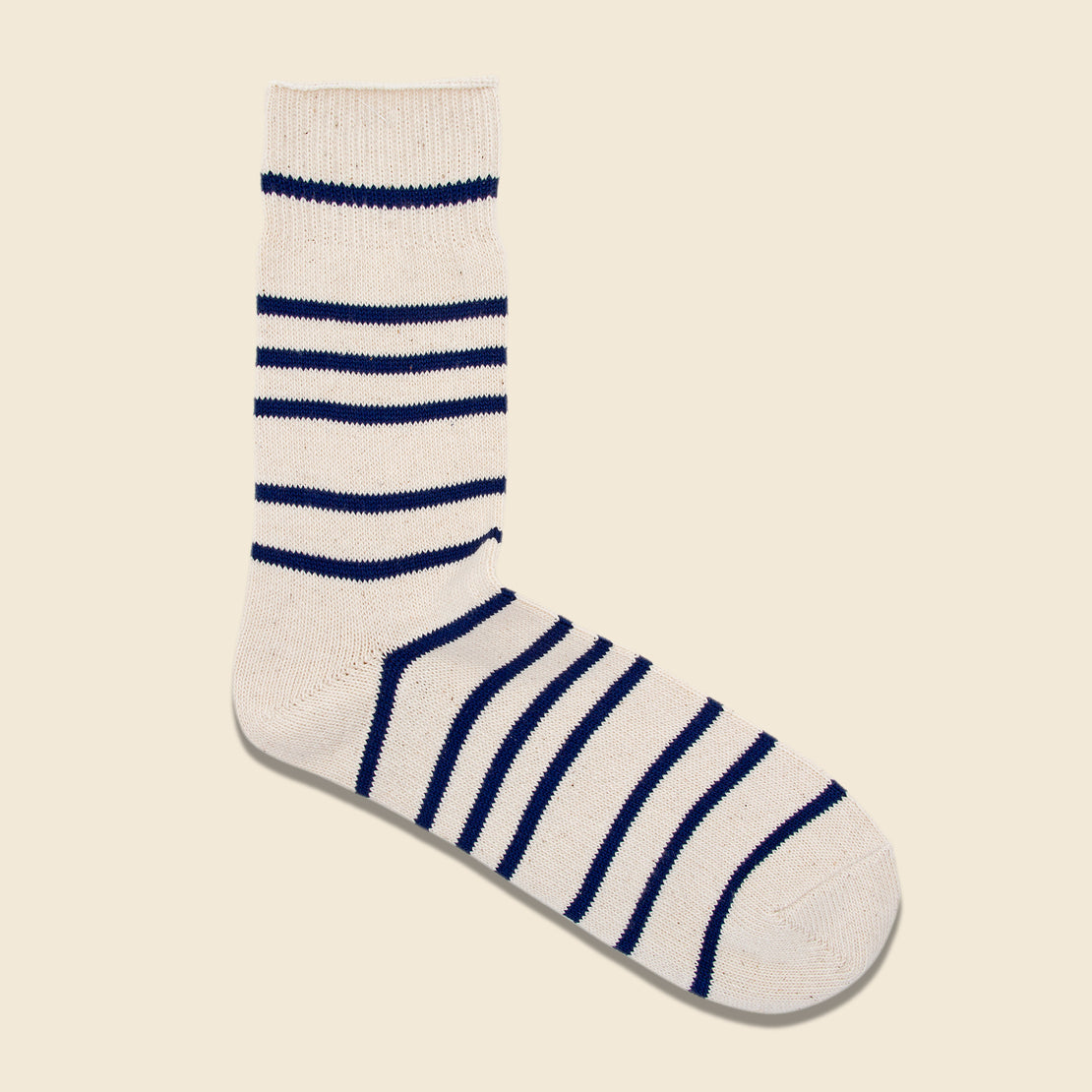 Anonymous Ism Multi Stripe 3/4 Sock - Navy