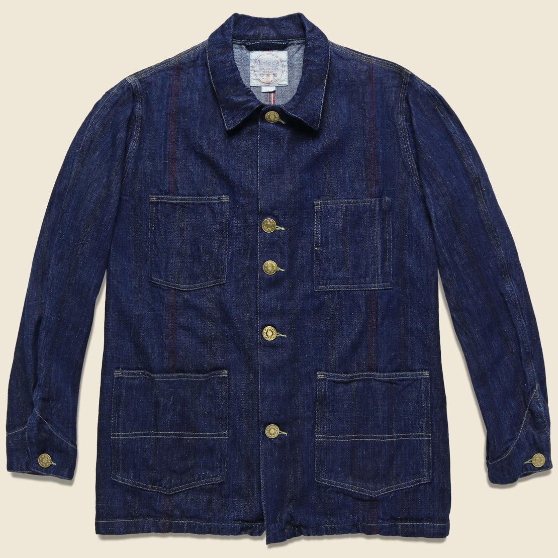 Auntie Oti Selvedge Denim Jacket - Indigo