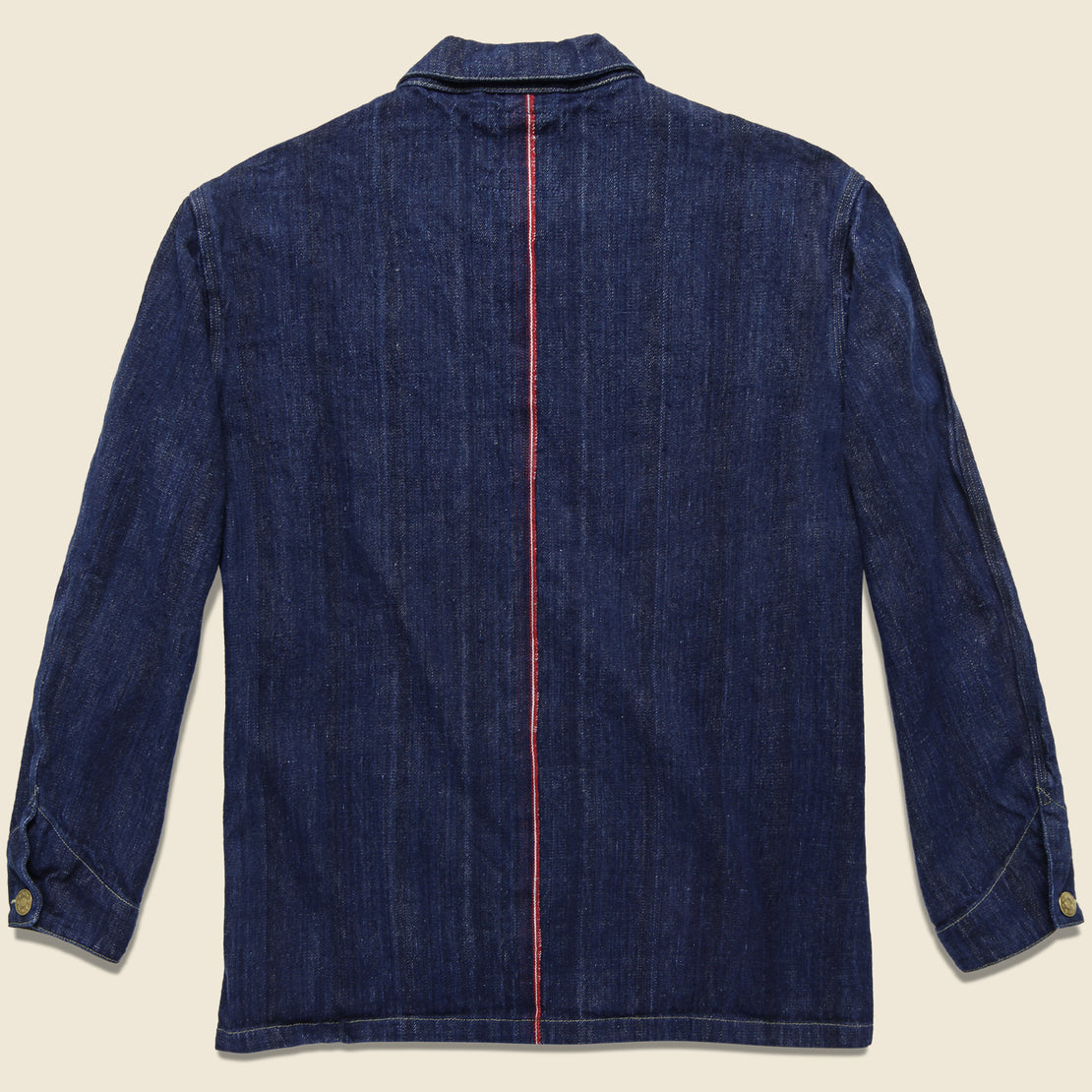 Selvedge Denim Jacket - Indigo