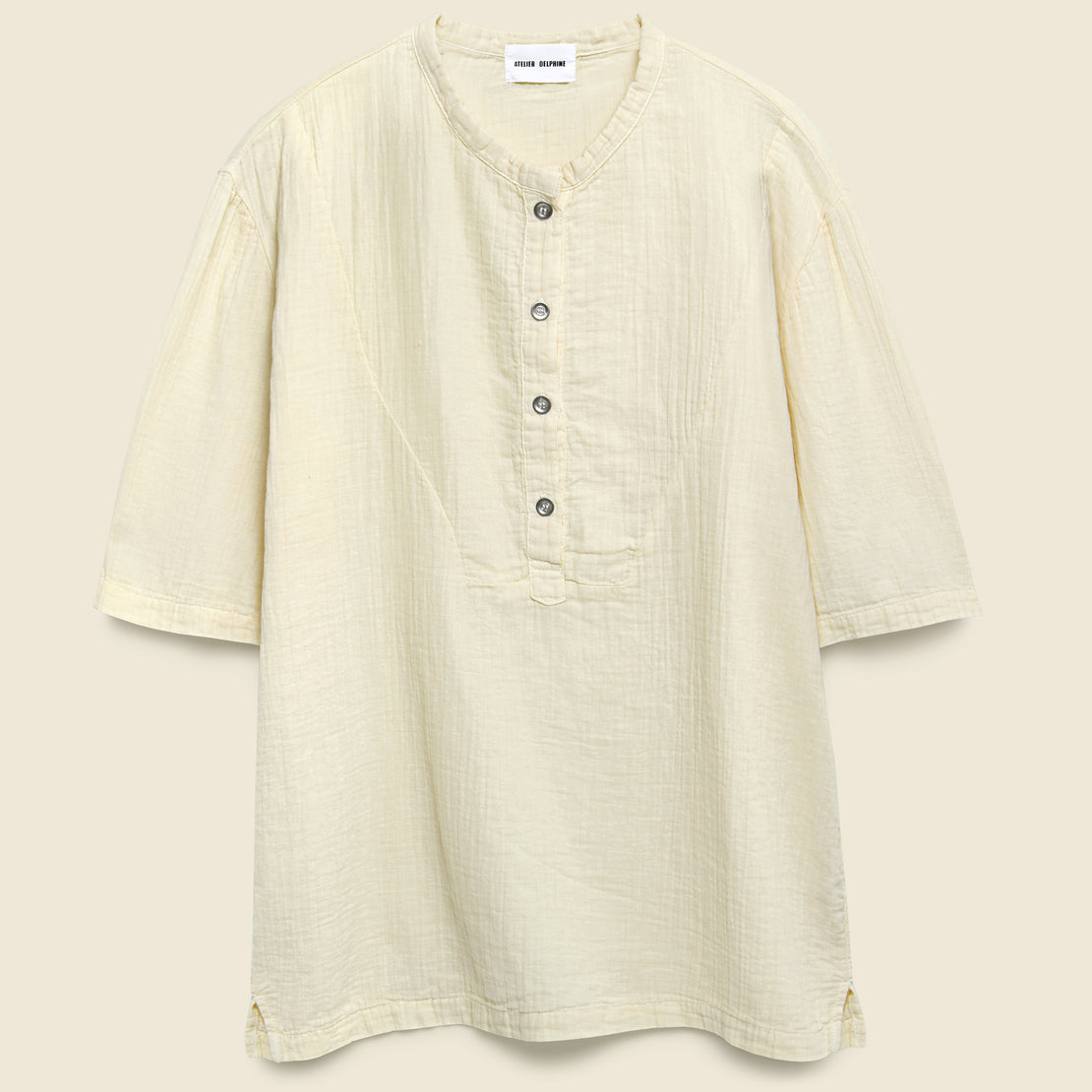 Atelier Delphine April Top - Kinari Beige