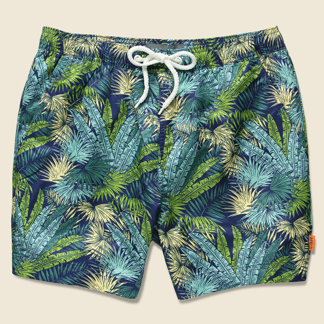 Afield Printed Swimshorts - Palms