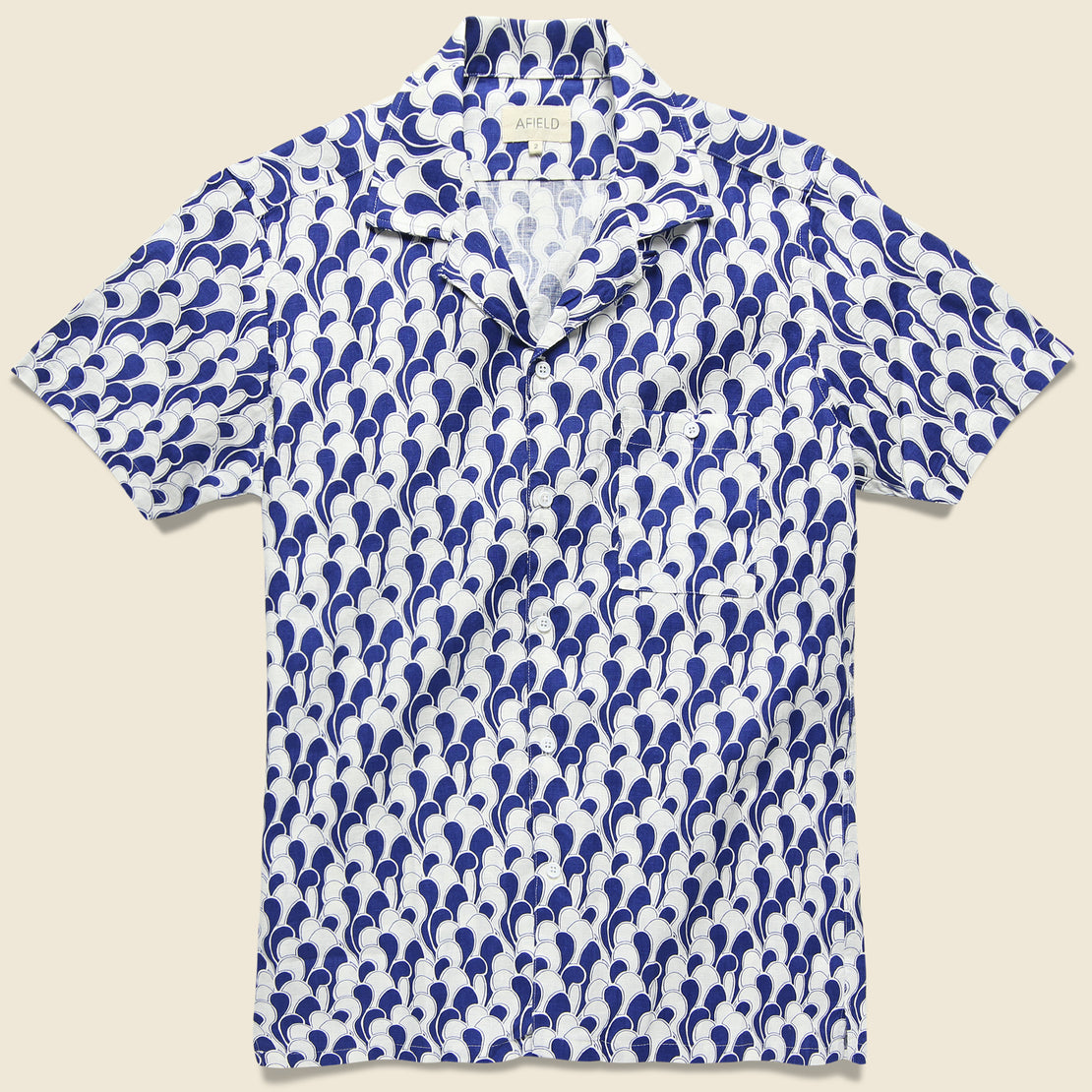 Afield Selleck Shirt - Waves