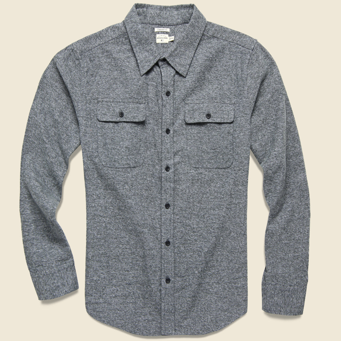 Bridge & Burn Bedford Flannel - Moss Heather