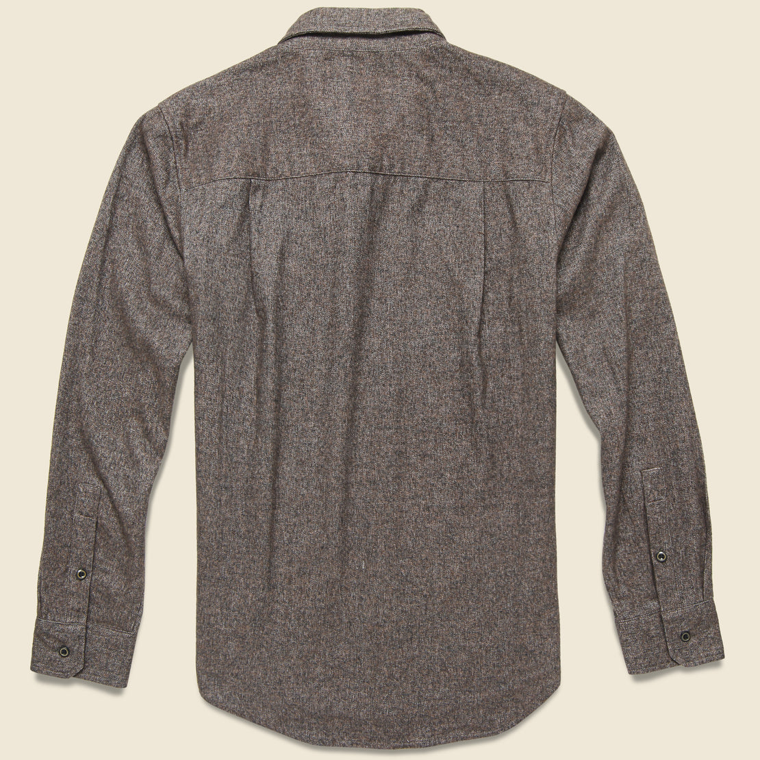Bedford Shirt - Coffee Heather