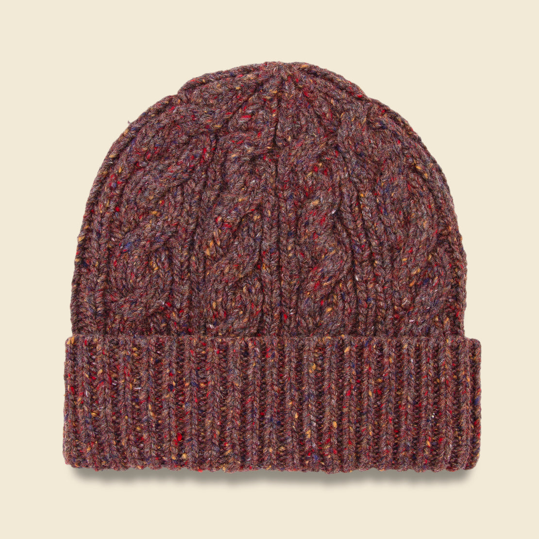 Bridge & Burn Cable Beanie - Woodland