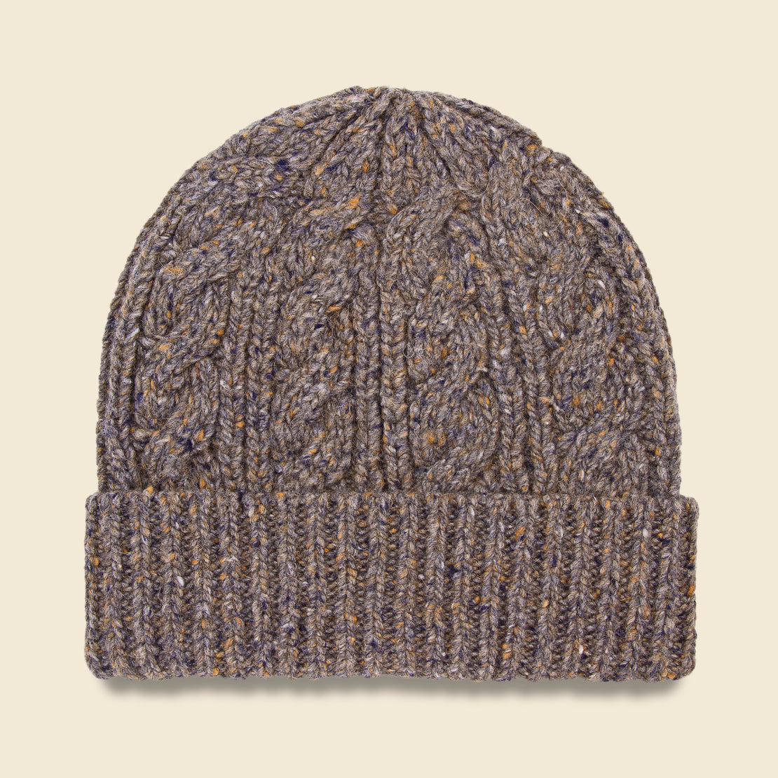 Bridge & Burn Cable Beanie - Stone