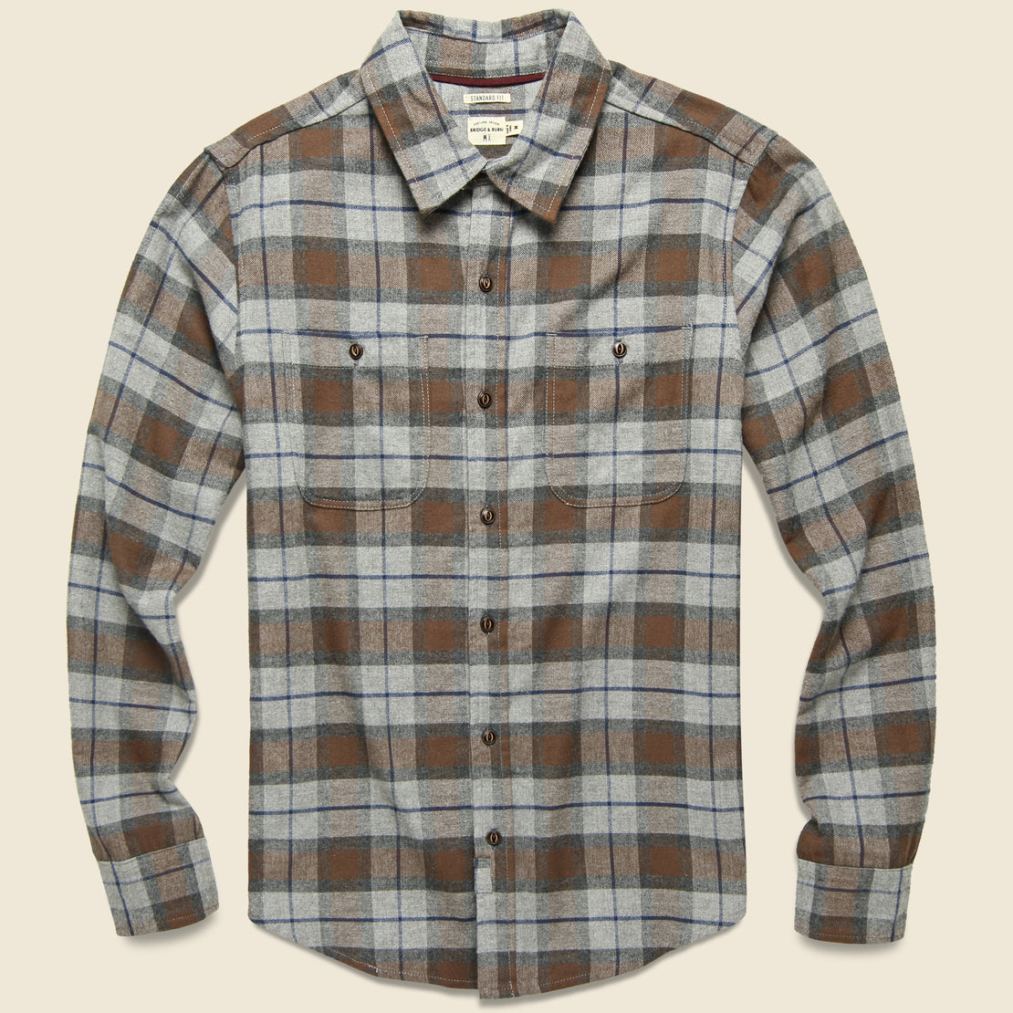 Bridge & Burn Winslow Flannel - Sienna Plaid