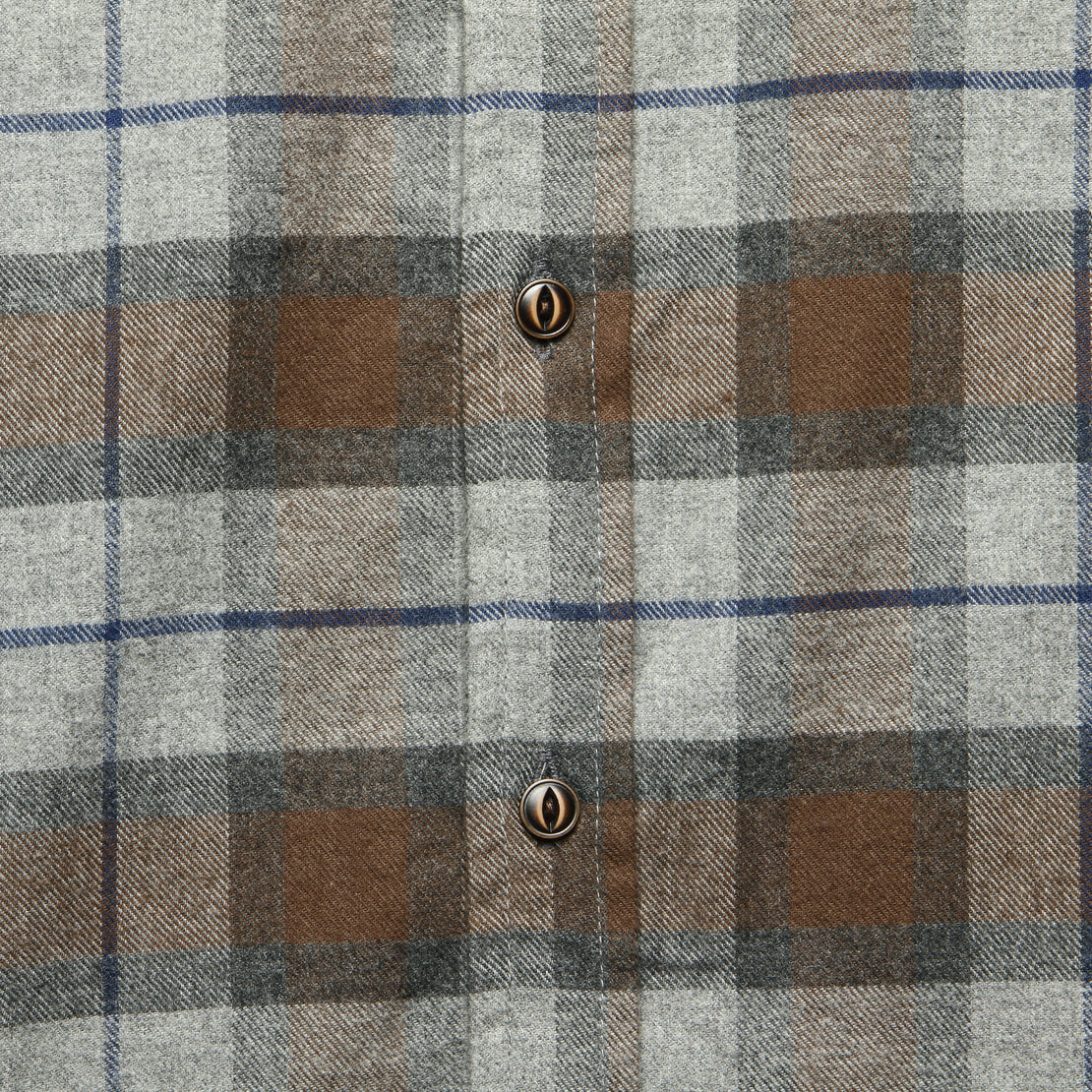 Winslow Flannel - Sienna Plaid